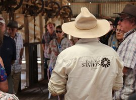 Tour of the historic Shearing Shed
