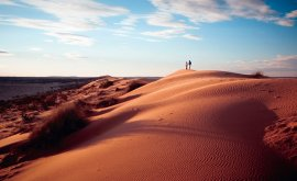 Bid Red Dunes with Couple