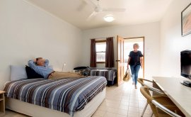 Birdsville Hotel Accommodation - Inside room