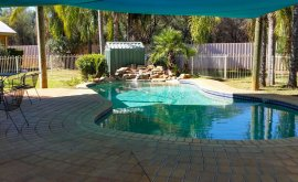 Mulga Country Motor Inn Pool Area