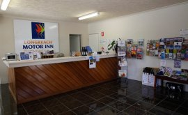 Longreach Motor Inn Reception