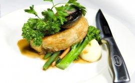 Beef Wellington from restaurant