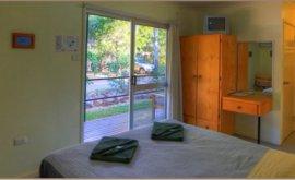 Inside Cabin at Bedrock Village